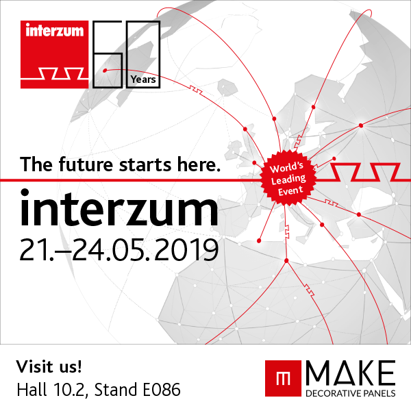 MAKE en la feria Interzum 2019