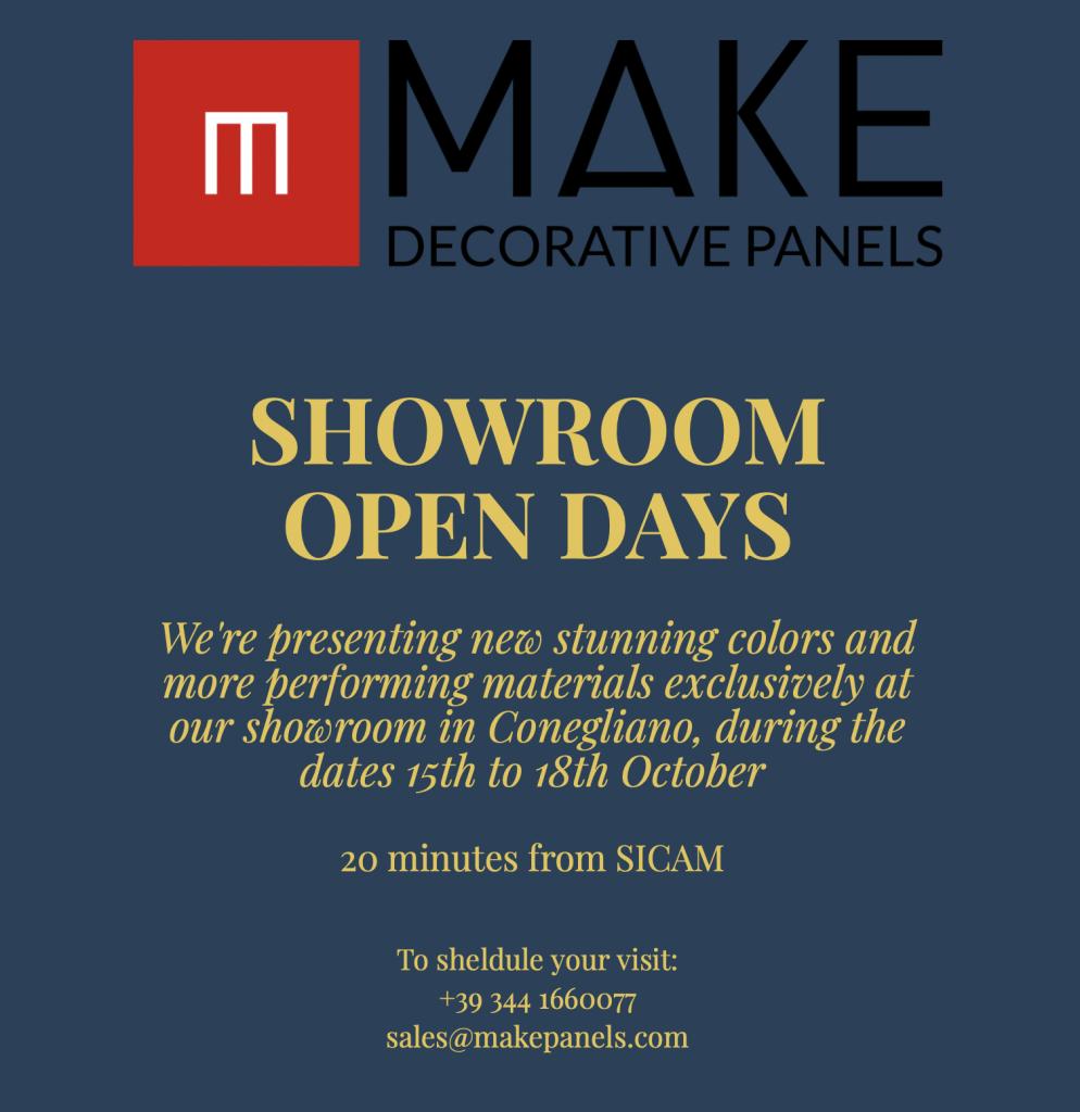SHOWROOM Open Days